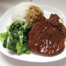 黑椒猪排饭