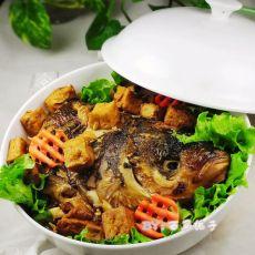 红烧鱼头炖豆腐的做法