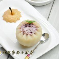 冰糖雪梨米饭盅