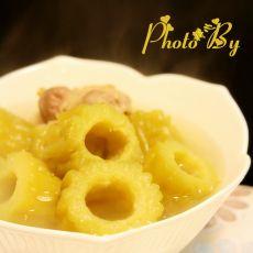 苦瓜炖水鸭汤