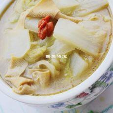 东北乱炖--【白菜炖干豆腐扣】的做法