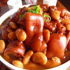 芸豆炖蹄花的做法