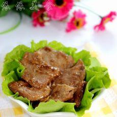 鲜嫩多汁煎肉片