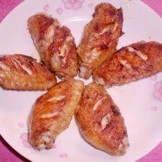 香煎鸡翅中(电饼铛煎制)的做法