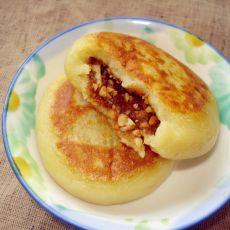 花生红糖地瓜饼