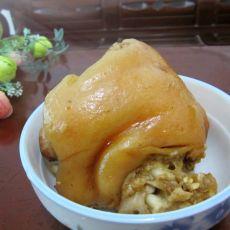 电饭锅焖猪肘子
