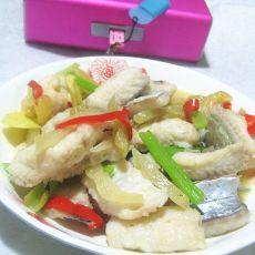 潮汕咸菜焖鳗鱼的做法