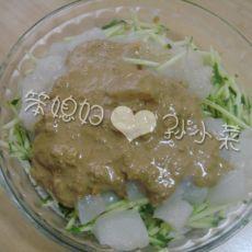 孙小菜的自制凉粉及焖子