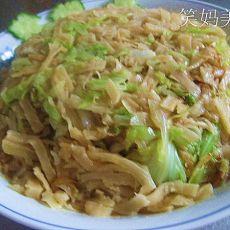 圆白菜焖饼