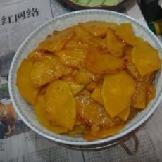 蚝油焖南瓜