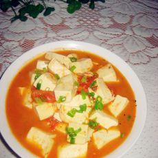 蕃茄焖豆腐