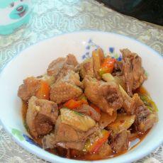 电饭锅焖豆豉鸭