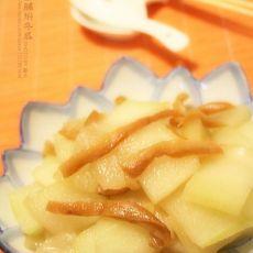 潮汕菜脯焖冬瓜