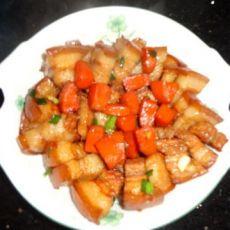 五花肉闷萝卜