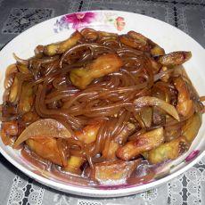 茄条焖红薯粉