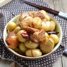 烧肉焖小土豆