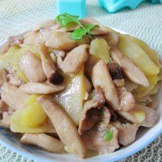 土豆焖杏鲍菇