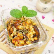 香菇焖黄豆