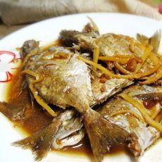 黄豆酱焖泥猛鱼