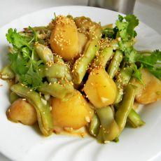红焖豆角土豆的做法