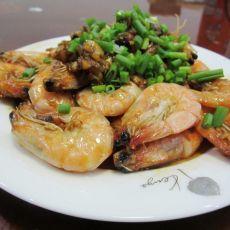 油焖黄金虾