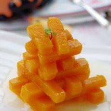 蔬菜吃出水果味的香桃南瓜条