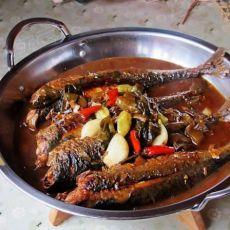 一个人吃饭也精彩---酸菜泡椒青条鱼