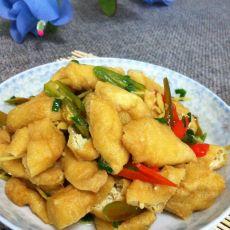香辣油豆腐