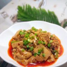 麻辣肉末豆腐