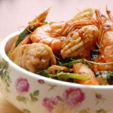 麻辣海鲜锅的做法