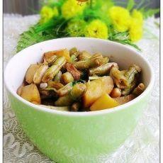 土豆烧芸豆的做法
