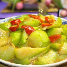 红椒烧丝瓜