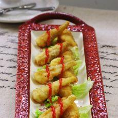粉裹豆腐鱼