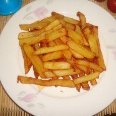 自制炸薯条的做法