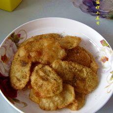 椒盐炸土豆片的做法