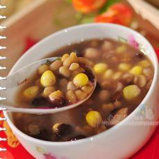 花生扁豆粘玉米粥的做法