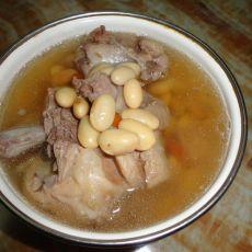 猪脊骨黄豆汤
