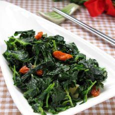 鸡汤枸杞叶―鲜上加鲜的野菜吃法
