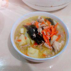 土豆海带汤的做法