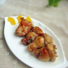 蒜香香芋烤鸡翅根