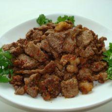 香味四溢的炒烤肉――新疆味道