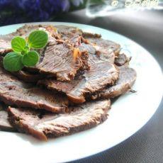 五香卤牛肉的做法