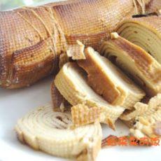 卤豆皮卷的做法