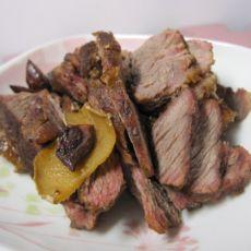 卤煮牛肉的做法