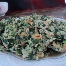 韭菜鸡蛋卤的做法