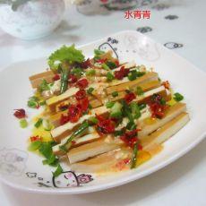 乳香卤豆腐丝的做法