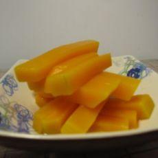 橙汁南瓜条