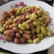 花生拌青豆
