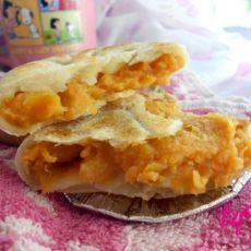 奶香红薯馅饼