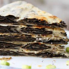 黑芝麻酱红糖饼